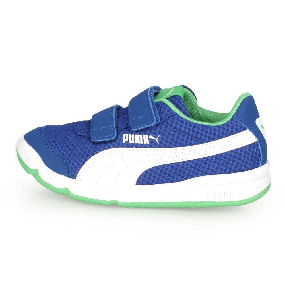PUMA 中童休閒運動鞋 Stepfleex 2 Mesh V PS 藍綠白