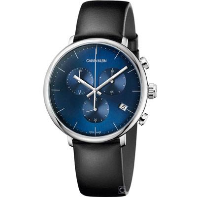 Calvin klein Posh 紳士的品格計時男錶(K8M271CN)42mm
