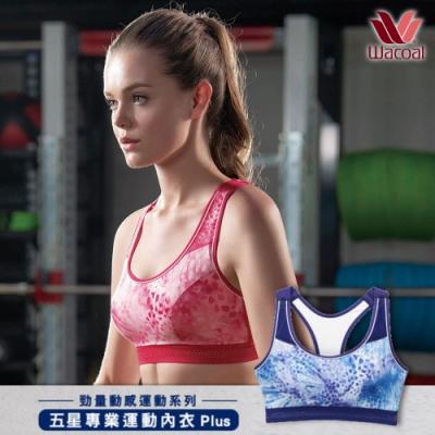 【華歌爾】好評獨家加碼!五星級專業無鋼圈運動胸罩2件組