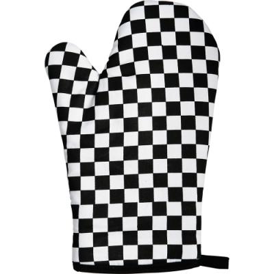 《Premier》烘焙隔熱手套(黑白格)