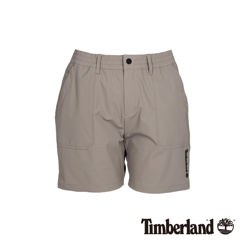 Timberland 女款卡其灰工裝短褲|B3301