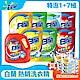 白蘭 洗衣精1+7組 贈熊寶貝濕紙巾6包 product thumbnail 1