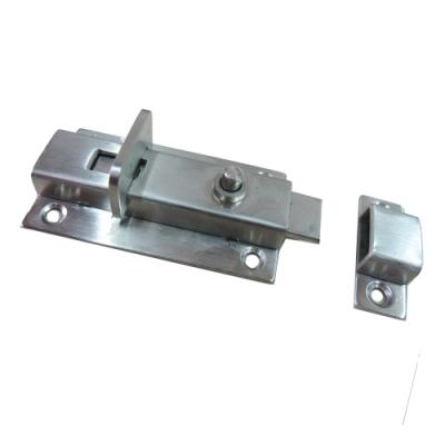 HE168 不鏽鋼推拉門指示鎖 168 門閂鎖 平閂 白鐵製 浴廁鎖 平栓 橫閂