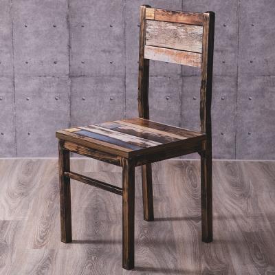 Abel-Aaron亞倫工業風餐椅/休閒椅-39x40x86cm
