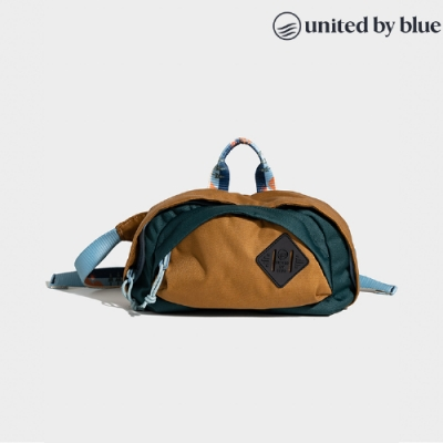 United by Blue 814-110 Utility Fanny Pack 防潑水多功能腰臀包 / 深綠駝色