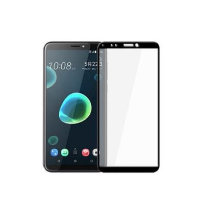 【MK馬克】HTC Desire 12+ (D12+) 全膠滿版9H鋼化玻璃貼保護膜
