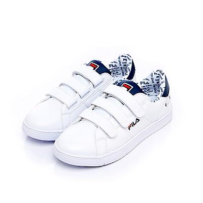 FILA #FUN開心 中性潮流復古鞋-丈青 4-C606S-113