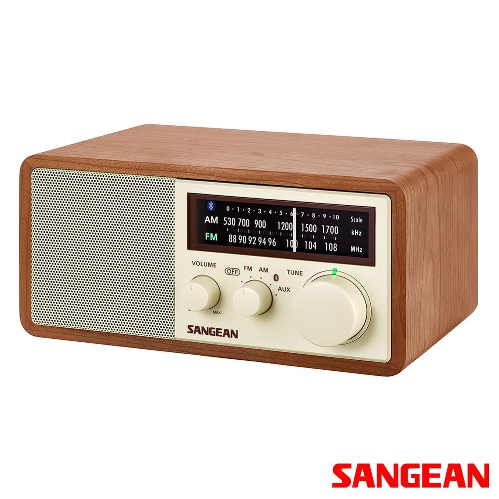 SANGEAN 藍芽 USB 二波段復古收音機 WR16
