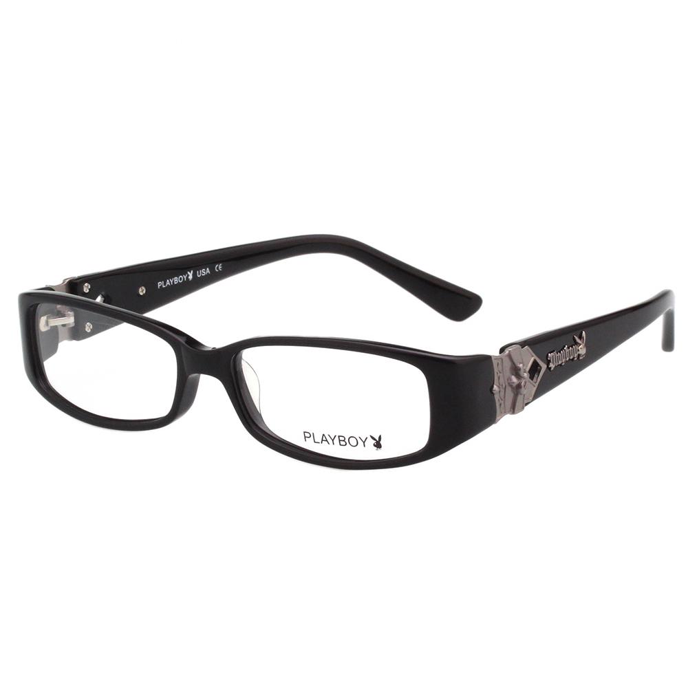 PLAYBOY-時尚光學眼鏡-黑色-PB85182 @ Y!購物