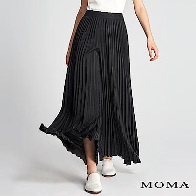 MOMA 壓褶A-line寬褲
