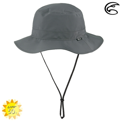 【ADISI】輕量3L防水高透氣中盤帽 AH21017(M-XL) / 礦物灰