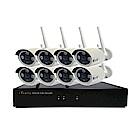 宇晨I-Family免配線/免設定1080P八路式無線監視系統套裝一機八鏡頭
