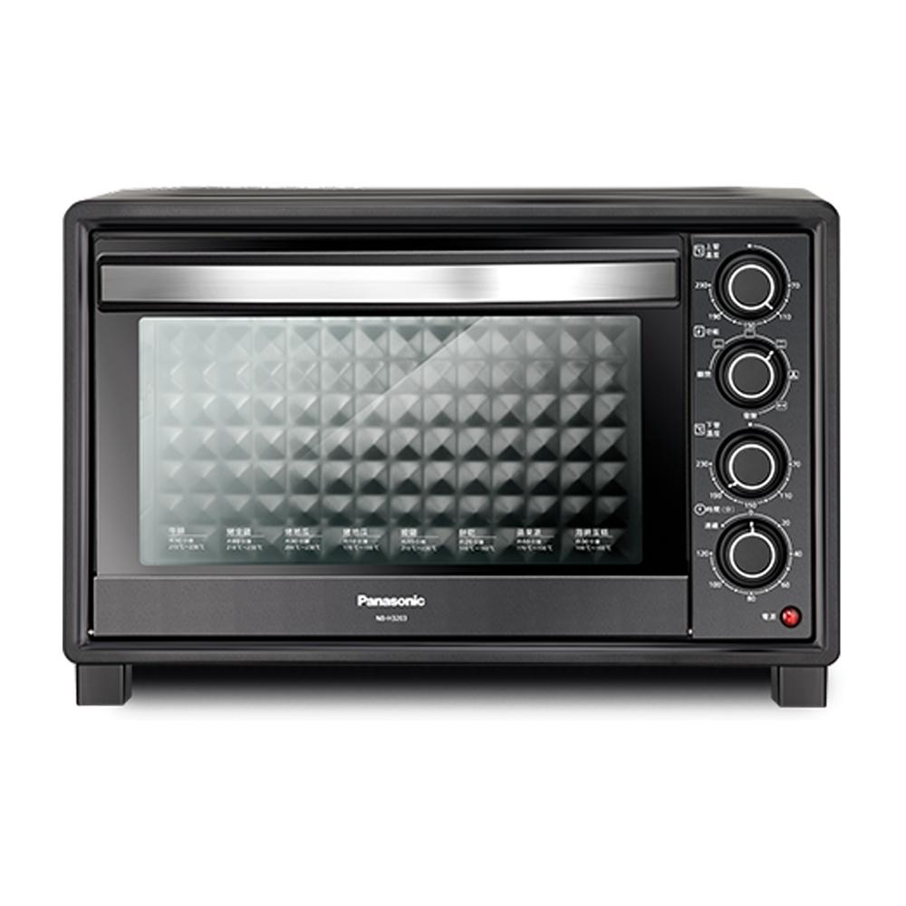 Panasonic 國際牌32公升雙溫控發酵電烤箱 NB-H3203