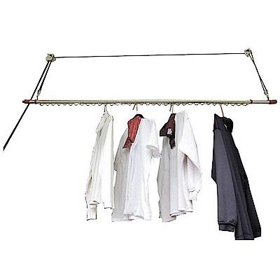 CB002-1 單桿式升降曬衣架(含桿)加長型 一桿式 拉繩曬衣架