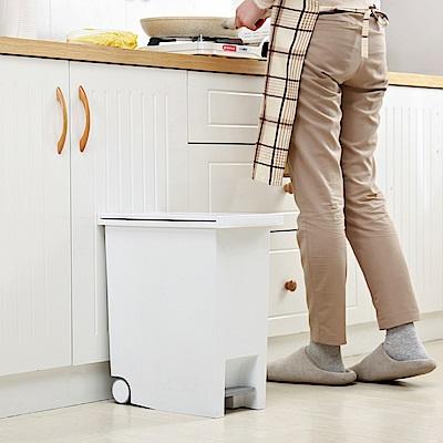 IDEA-便利腳踏式垃圾桶