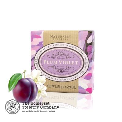 Somerset 賽玫特 英國自然歐洲乳油木香皂150g-紫李