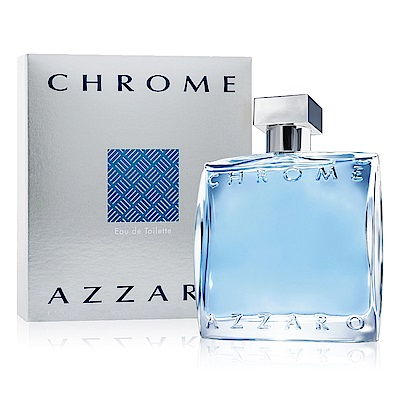 *Azzaro Chrome 海洋鉻元素男性淡香水 100ml
