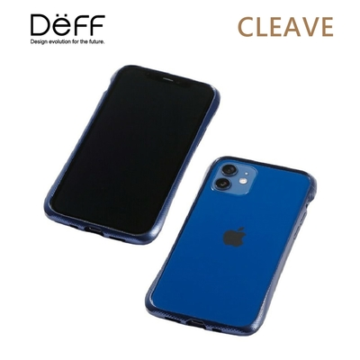 Deff CLEAVE 鋁合金保險桿 for iPhone 12/12 Pro 藍色