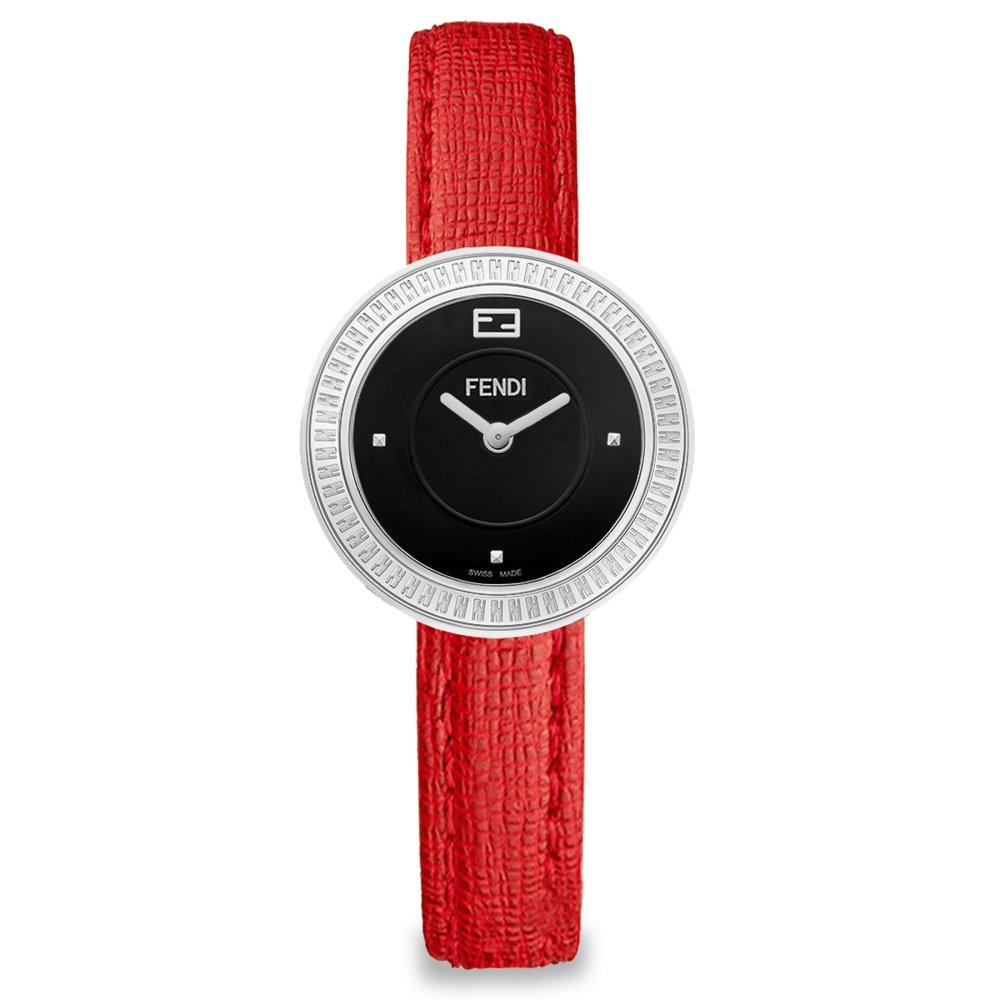 FENDI MY WAY獨特魅力時尚腕錶/陶瓷/小碼/F350021073
