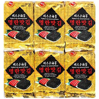 HAEMATT 京畿道明太子味付海苔(6公克x12包)