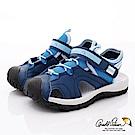雨傘牌 護趾運動涼鞋款 EI93853深藍(中小童段)