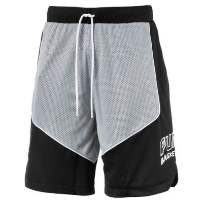 PUMA-男性籃球系列HOOPS GAME短褲-黑色-歐規