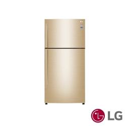 [無卡分期12期] LG樂金 496L 1級變頻2門電冰箱 GN-BL497GV 光燦金