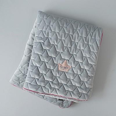 La Millou Velvet頂級棉柔系列-標準款暖膚毯80x100cm(舒柔深灰)