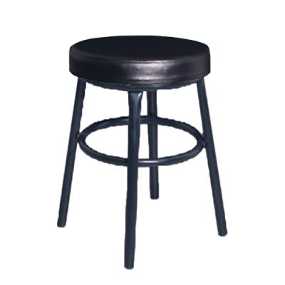 H&D 麥當黑厚皮椅