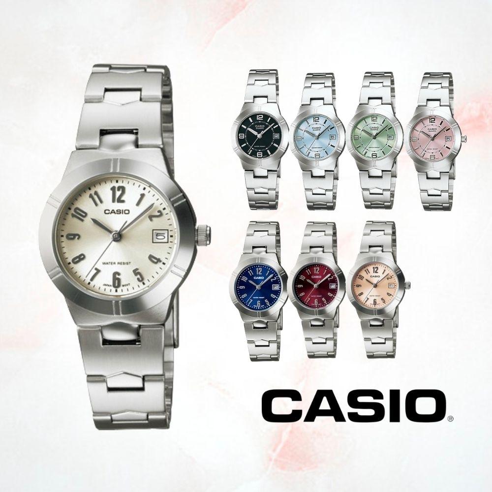 CASIO卡西歐 名媛淑女氣質指針錶(LTP-1241D)