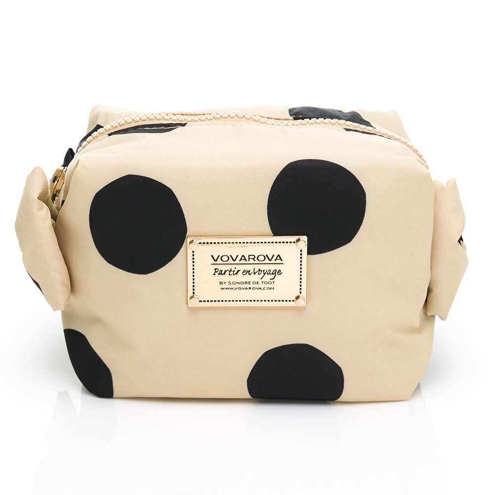 VOVAROVA空氣包-糖果裝不滿化妝包-午茶特調系列/焦糖珍珠