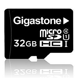 Gigastone 立達國際 32GB MicroSDHC UHS-I 高速記憶卡(附轉卡