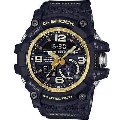 G-SHOCK 極限大陸防泥防塵運動錶(GG-1000GB-1A )黑/ 55.3mm