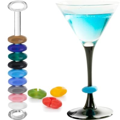 《IBILI》夾式杯子標記12入