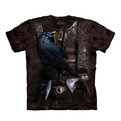 摩達客-美國進口The Mountain 變身馴鳥師 純棉環保藝術中性短袖T恤(現貨)