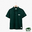 男裝Roots-經典短袖POLO衫-綠