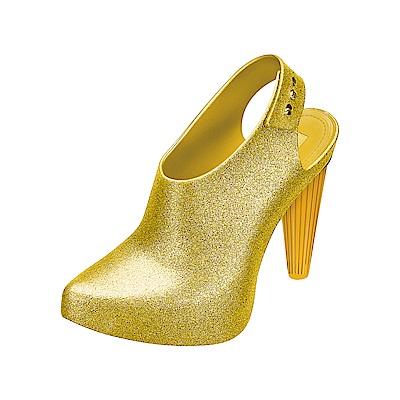 MELISSA 摩登女郎造型跟鞋-金