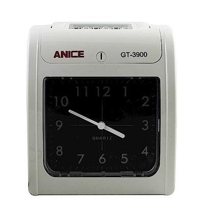 Anice雙色列印高效能六欄位打卡鐘 GT-3900A