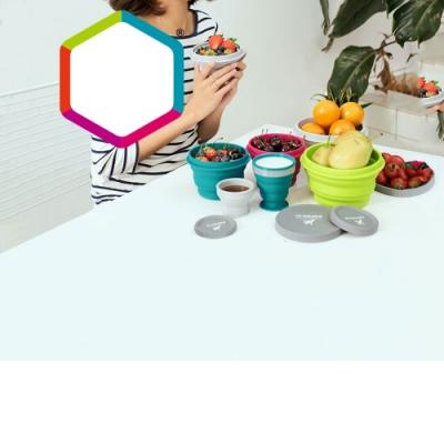 中型摺疊碗