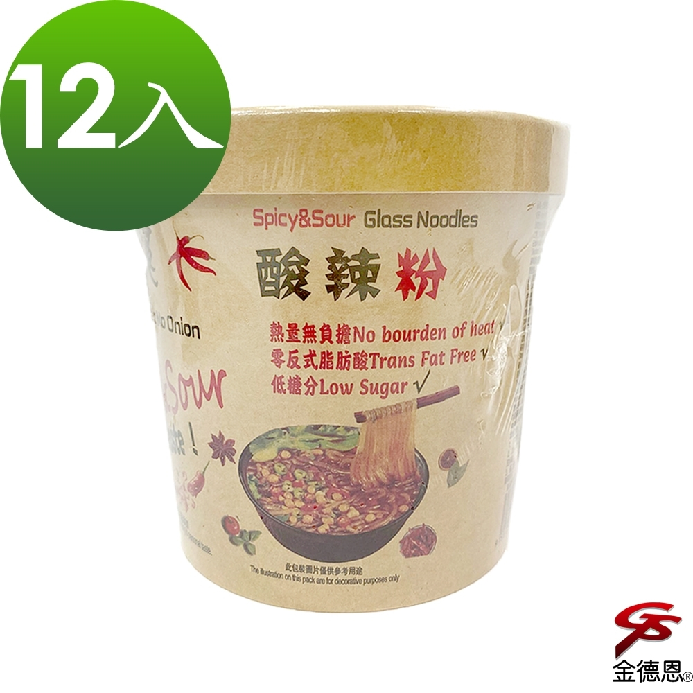 大瑪酸辣粉純素(133g/入)x12入