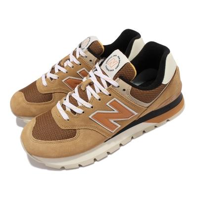 New Balance 休閒鞋 574D Rugged 增高 男鞋 紐巴倫 麂皮 老爹鞋 穿搭 緩震中底 棕 淺褐 ML574DHG-D