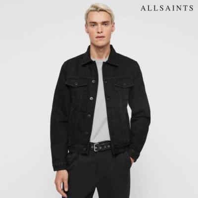 ALLSAINTS BLANK 純棉素面簡約率性牛仔外套