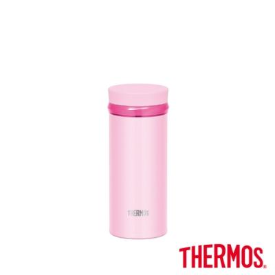 THERMOS膳魔師不鏽鋼真空保溫杯0.25L(JNO-252-SHP)(亮粉色)