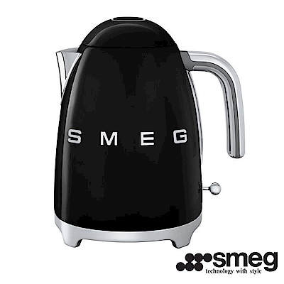 義大利SMEG  電熱水壺 - 耀岩黑 KLF01BLTW