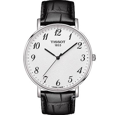 TISSOT天梭Everytime經典時尚腕錶(T1096101603200)