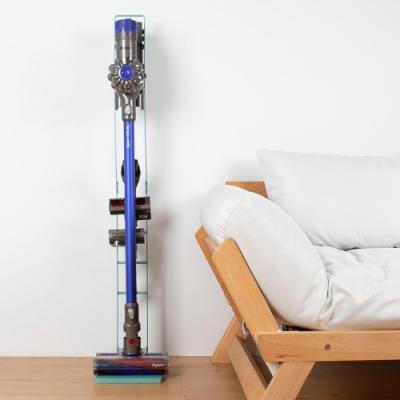 樂嫚妮-多功能吸塵器收納架-Dyson-直立式-掛架-手持式-土耳其藍