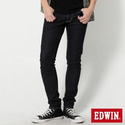 EDWIN 503 經典五袋式 窄直筒牛仔褲-男-原藍色