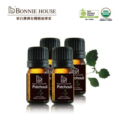 Bonnie House 廣藿香精油5ml 4入組