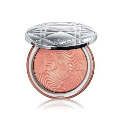 Dior迪奧 輕透光燦蜜粉餅#002 CORAL VIBES 6g 霓幻樂光限量版