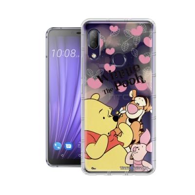 迪士尼授權正版 HTC U19e 繽紛空壓安全手機殼(維尼)